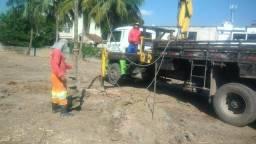 Perfuratriz de trado a seco para fundação