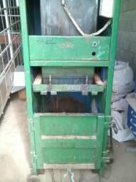 Prensa para reciclagem. Parcelável