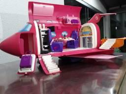 Avião da Barbie completo