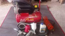 Compressor 120 libras de pressão air plus adventure
