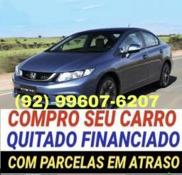 Honda compro carro financiado quitado atrasado