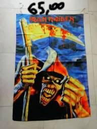 Bandeira Da Banda De Rock Iron Maiden