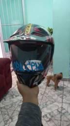Vendo capacete bem conservado n 58 bieffe