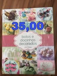 Livros para confeiteiras e cake designer