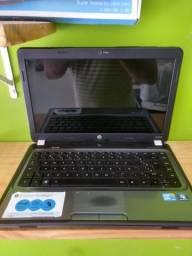 Notebook HP Core i3 4GB de RAM e 500GB de HD