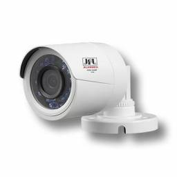 Camera JFL Bulet interno/externa com case plastico hdtvi 720P IR 30 4 em 1