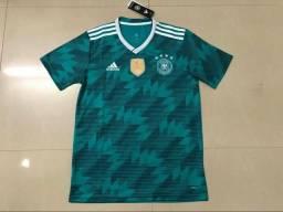 Camisa Oficial Seleção Alemanha Verde 2018/2019