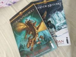 Livros Percy Jackson 1 e 2