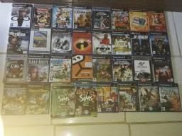 Vendo 30 jogos de PS 2 originais e 6 jogos de PC novos com capas