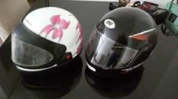 Vendo 2 capacetes por preço de um
