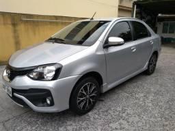 Toyota Etios Platinum 18/19 - 16 mil km - como NOVO - 2019