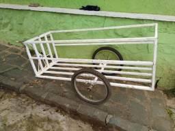 Carretinha para bicicleta