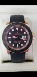 Relógio Rolex Yacht Master Automático a prova d'água Completo