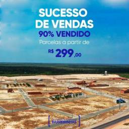 MM Lotes em Barreirinhas. Prest. R$ 299,00