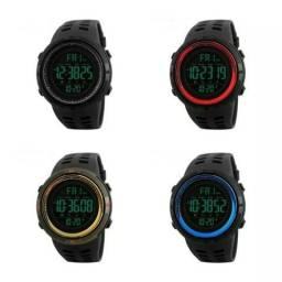 36c21da3b79 Relógio Esporte Skmei 1251 Prova D água Dual Time