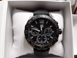 ccf09915de Relógio Masculino Esportivo Tag Heuer Fórmula 1 Black Dial