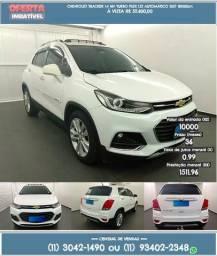 Branco Chevrolet Tracker 2017 R$ 55699 18099km - 2017