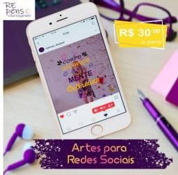 Artes Personalizadas para Redes Sociais