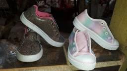 Sapatos infantil feminina