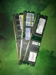 3 memoria ram ddr1 somam 2.5 GB