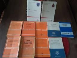 Livros cartas apostólica e documentos da igreja