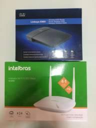 Roteador Intelbras IWR3000N e Cisco E900