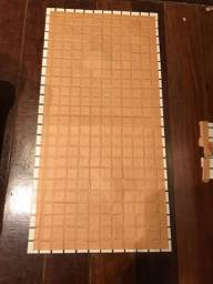 Pastilhas vitrificadas 2,5 x 2,5 cm