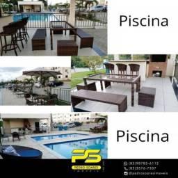 Apartamento com 2 dormitórios à venda, 56 m² por R$ 137.000 a vista - Portal do Sol - João