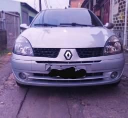 Clio Sedan 1.0 16v 2004 Completo