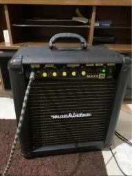 Amplificador 25w de guitarra com drive