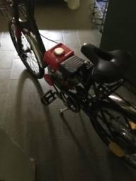 Bicicleta motorizada quatro tempo