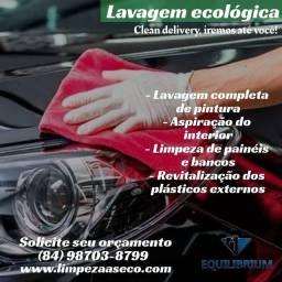 Estetica Automotiva e Lavagem ecológica