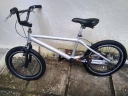 Bike bmx aluminio + frete do brasil ou retirada