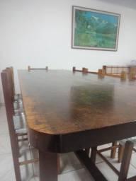 Mesa para churrasqueira, em imbuia - raríssima!