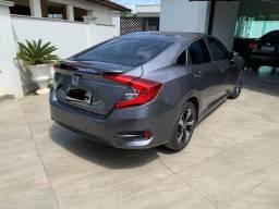 Honda civic EXL - cinza
