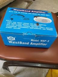 Amplificador de voz a pilha
