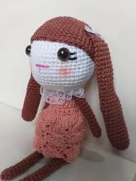 Boneca coelha Amigurumi
