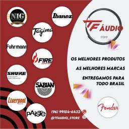 (Loja em Macapá)TF ÁUDIO STORE Loja online de instrumentos musicais e acessórios.