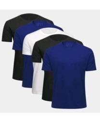 Kit com 5 camisas tamanho M ou G
