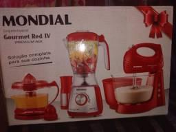 Conjunto Mondial Gourmet Red IV (Novo na Caixa)