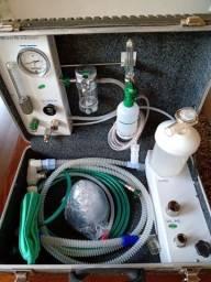Anestesia inalatória maleta Veterinária portátil