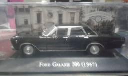 Miniatura Ford Galaxie 500-1967 Carros Inesquecíveis Coleção