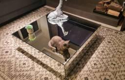 Mesa de centro espelhada - Usada
