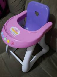 Cadeira de Papinha Musical