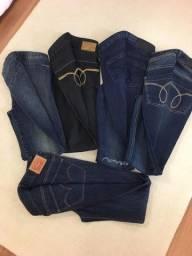 Calças Jeans originais - combo com 4 sendo 3 Calvin Klein e 1 Levis número 36