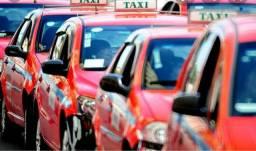 Ponto de taxi em Porto Alegre