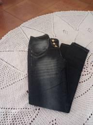 Calça skinny bolso reco feminina linda