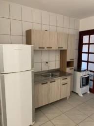 Apartamento térreo dois dormitórios mobiliado
