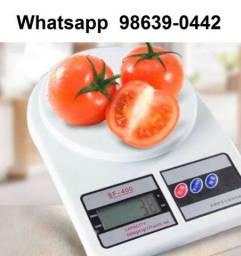 Balança digital de alimentos até 10kg (Novo, aceito cartão)