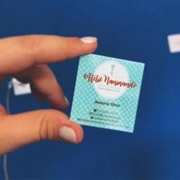 Coisa Linda Mini Cartões Personalizados Diversos Modelos